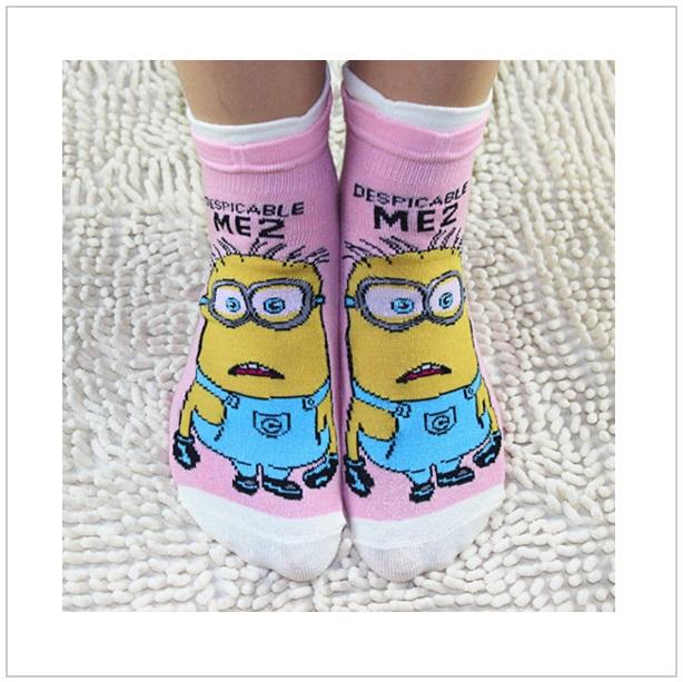 Dámské ponožky Mimoň - Pink