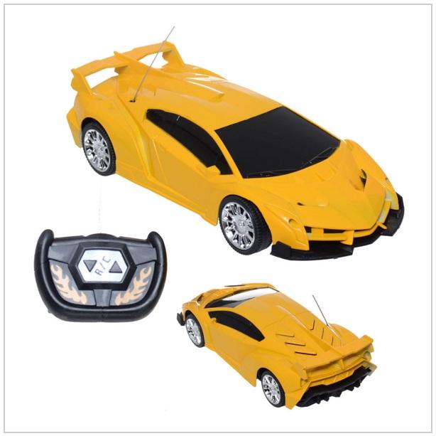 Auto na dálkové ovládání - žluté