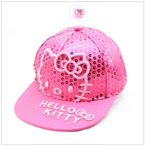 Dětská čepice Hello Kitty - růžová / dnk-13-00469