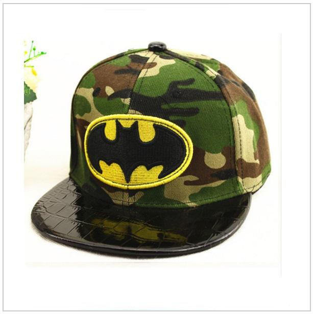 Dětská kšiltovka Batman - maskáčová / dnk-13-00472