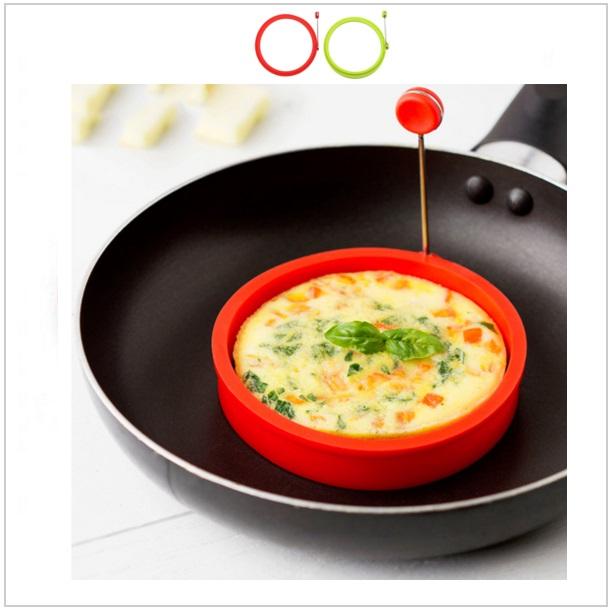 Silikonová formička na vajíčka & palačinky / dnk-13-00662