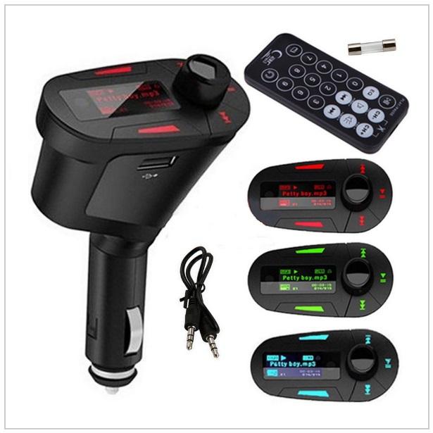 Auto MP3 přehrávač s dálkovým ovládáním / tnk-13-01251