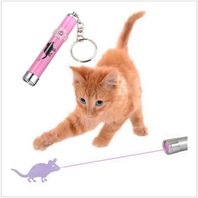 Laserová myš - zábavná hračka pro kočky / tnk-13-01311