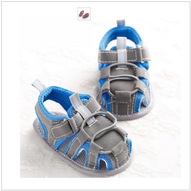 Dětské modré sandálky / dnk-13-00680