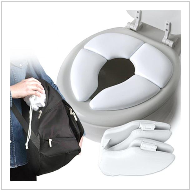 Skládací polstrované dětské WC sedátko / tnk-13-01515