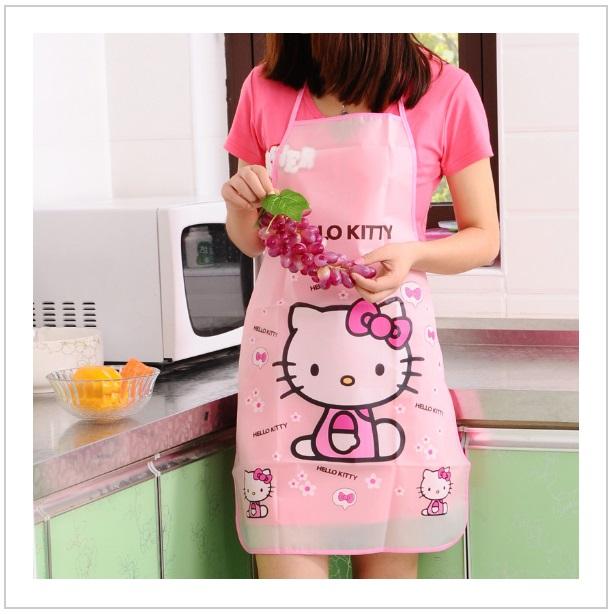 Dívčí kuchyňská zástěra - Hello Kitty / tnk-13-01707