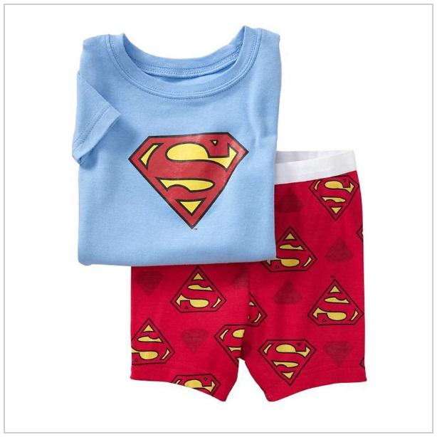 Dětské triko & kraťasy - Superman / tnk-13-01758a
