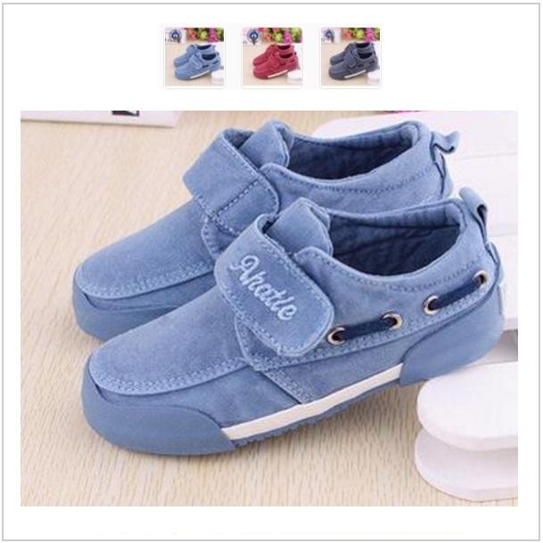 Dětské plátěné boty / dnk-13-00822