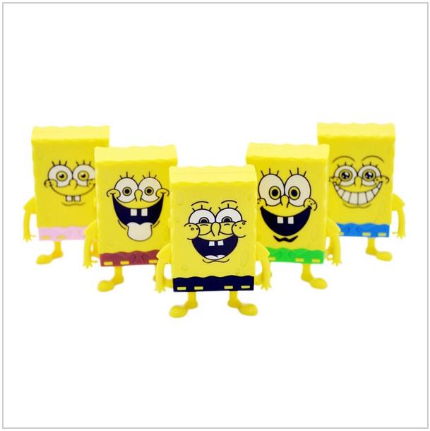 Mini MP3 přehrávač - SpongeBob / 4-00001a