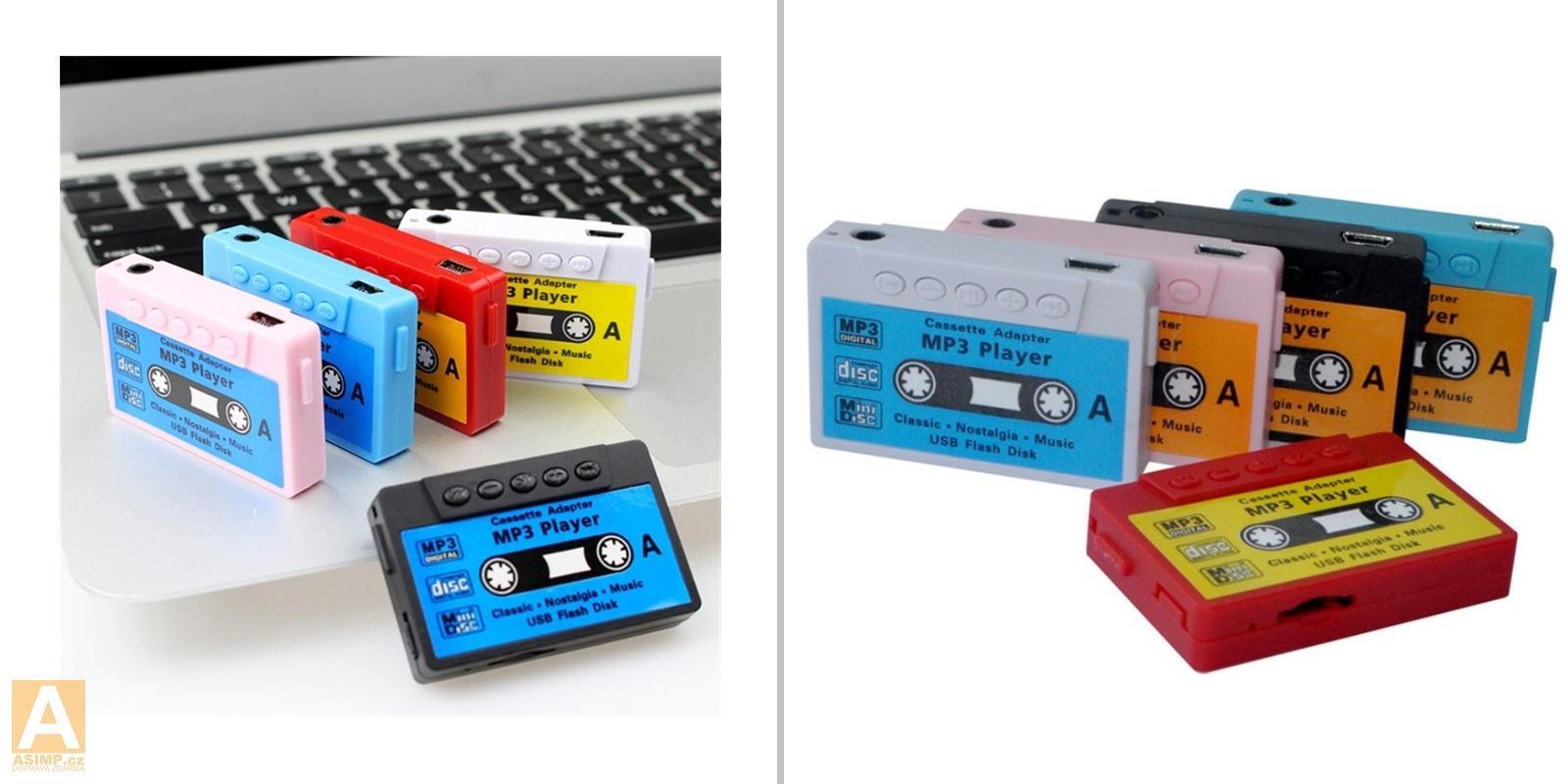 MP3 přehrávač - kazeta / A-001066