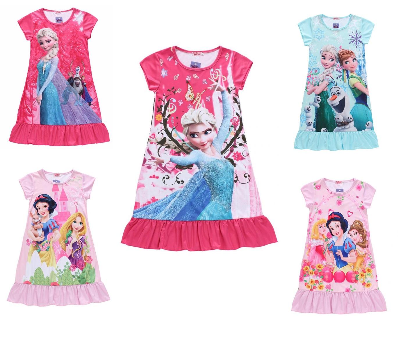 Dětské šaty - Ledové království / dnk-13-00995