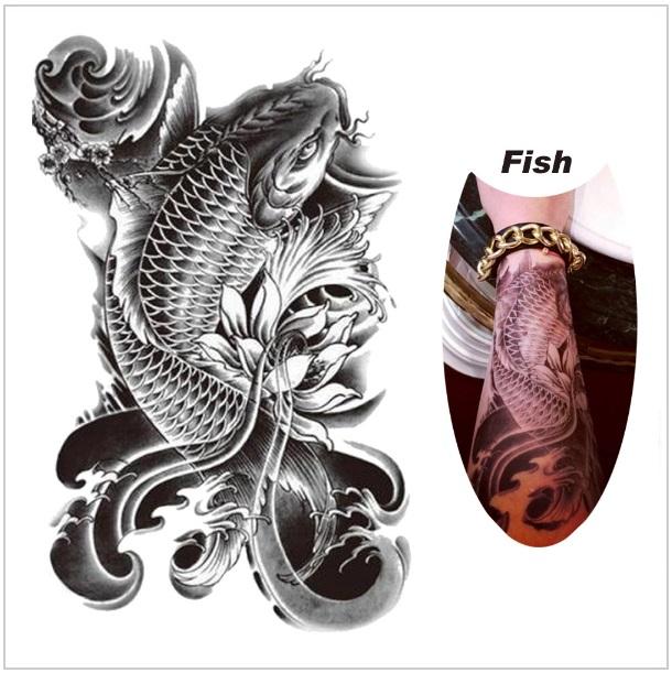 Tetování - ryba / tnk-13-02074