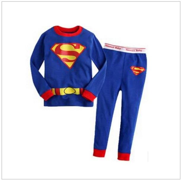 Dětské pyžamo - Superman / dnk-09d-00055b