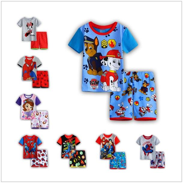 Dětské kraťasy s tričkem / dnk-13-01090