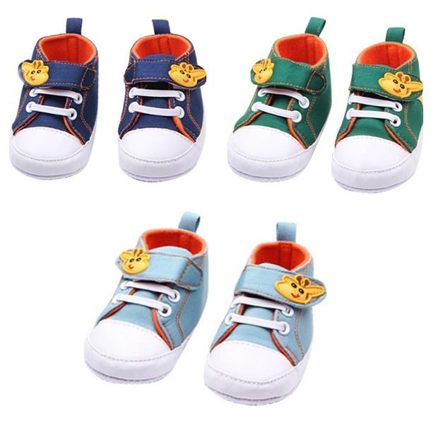 Dětské boty s žirafou / dnk-13-01108