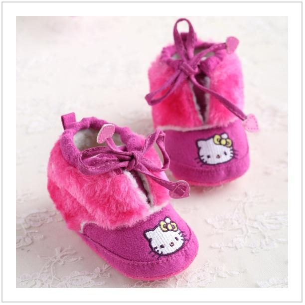 Dětské botičky - Hello Kitty / dnk-13-01117