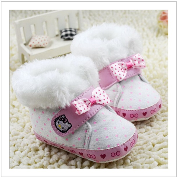 Dětské botičky - Hello Kitty / dnk-13-01118