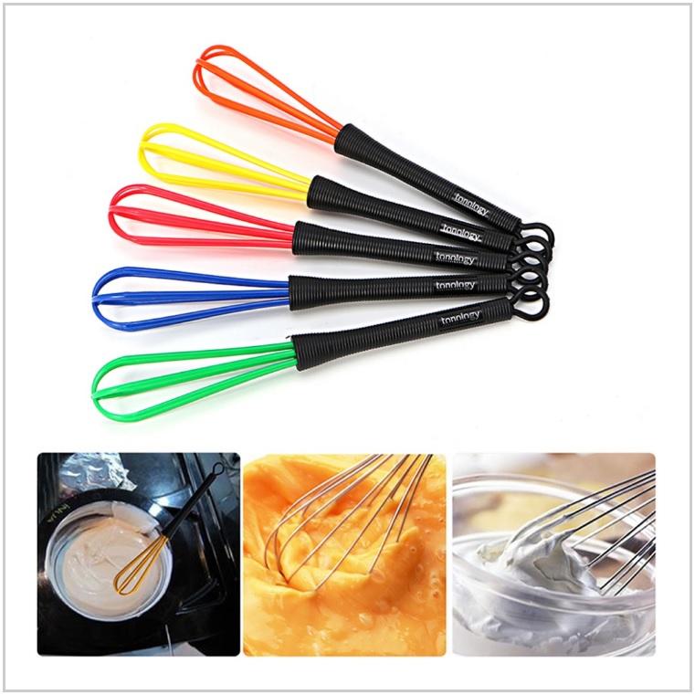 Metlička pro míchání barvy na vlasy / dnk-13-01211