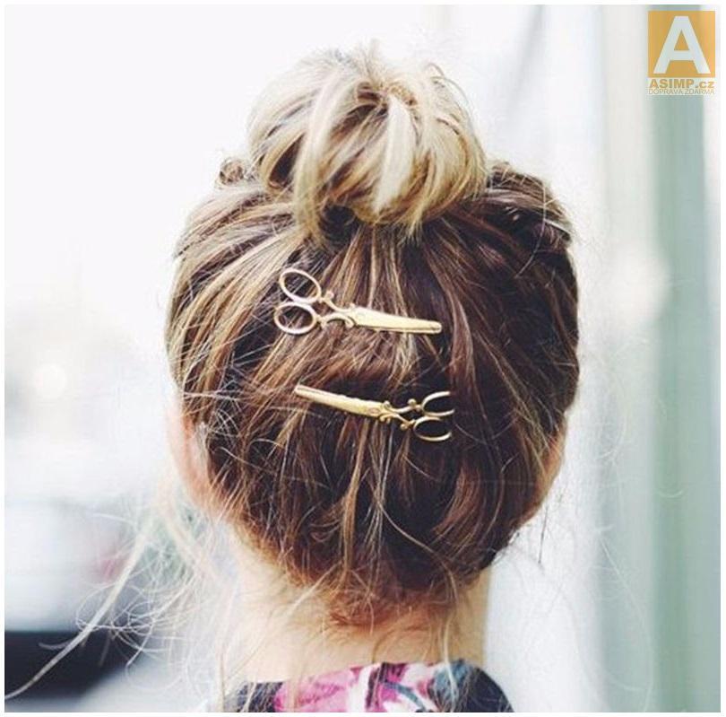 Sponka do vlasů - nůžky   dnk-13-01224 88bd110be7