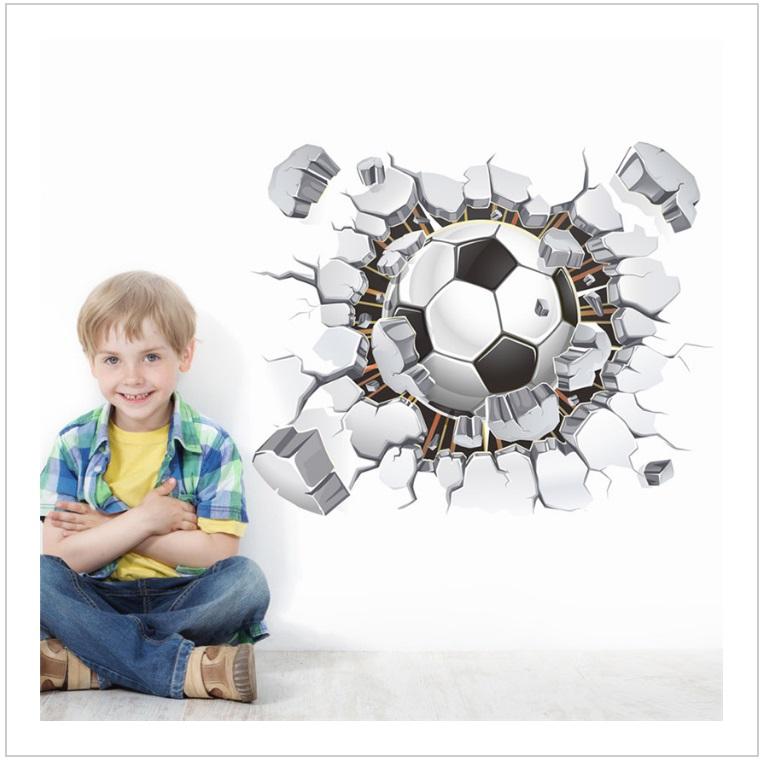 Samolepící tapeta - fotbalový míč / tnk-13-02163