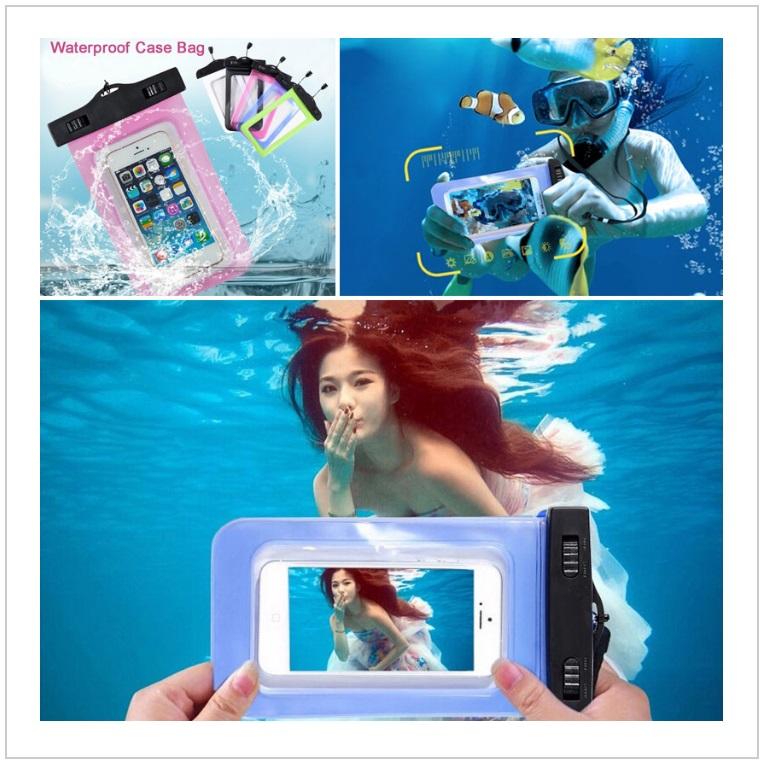 Vodotěsné pouzdro na telefon / tnk-13-02209