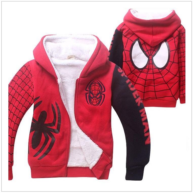Dětská bunda - Spiderman / tnk-13-02246a