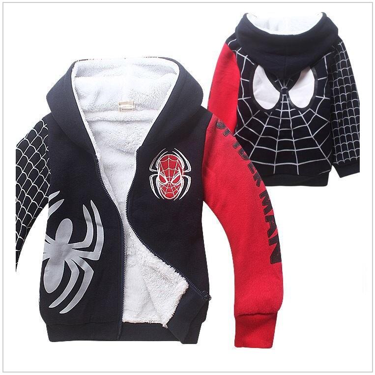 Dětská bunda - Spiderman / tnk-13-02246b