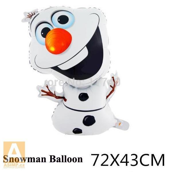 Nafukovací Sněžný muž 72 x 43 cm / 16-00003