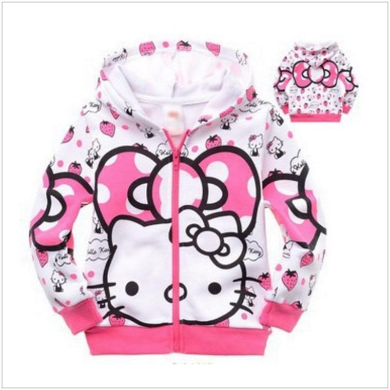 Dětská mikina - Hello Kitty / dnk-13-01246
