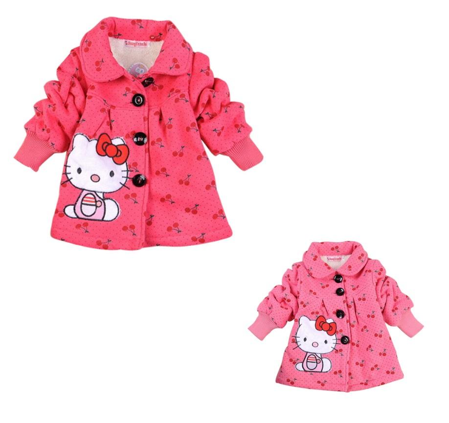 Dětský kabátek - Hello Kitty / dnk-13-01249