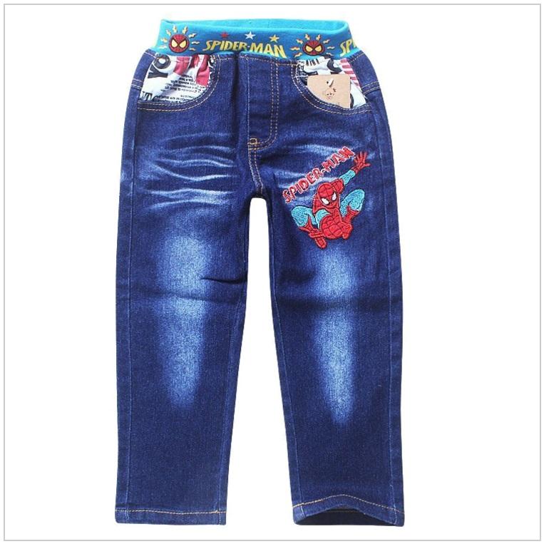 Dětské džíny - Spiderman / dnk-13-01274