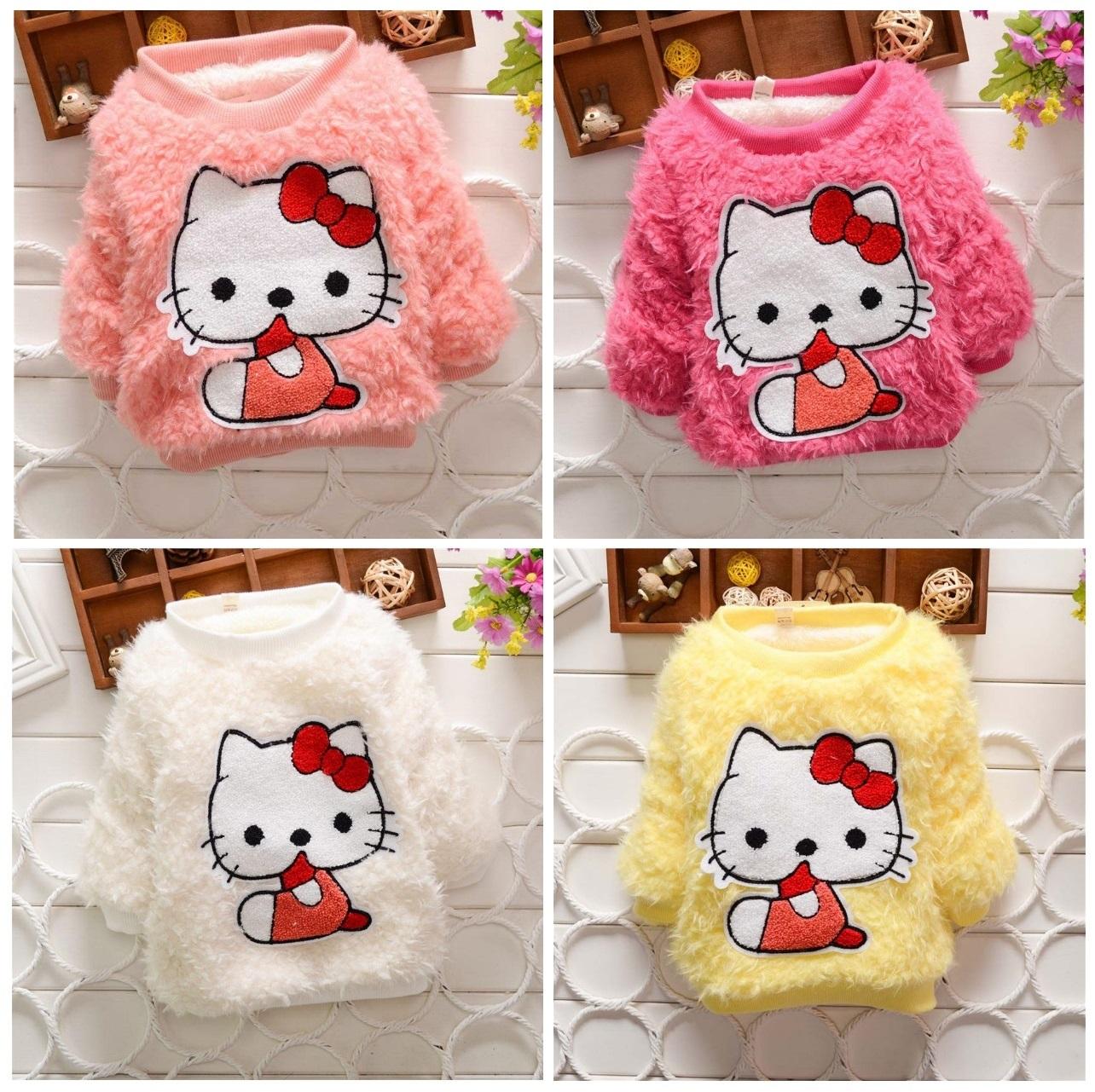 Dětský svetřík - Hello Kitty / dnk-13-01282