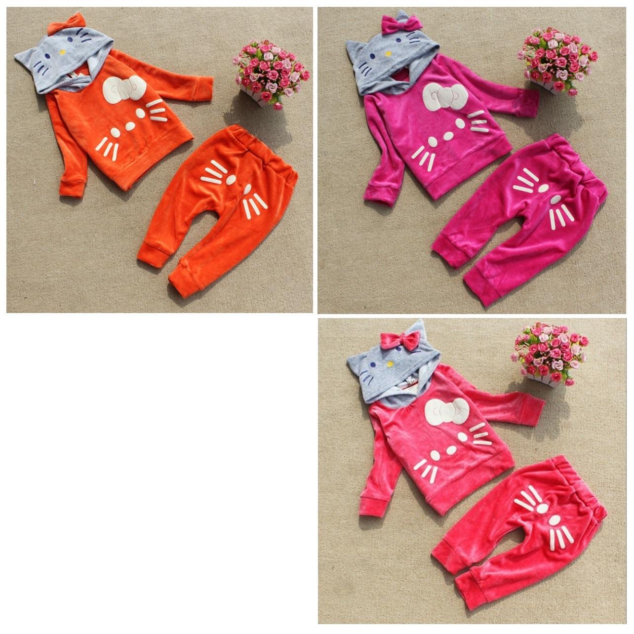 Dětská tepláková souprava - Hello Kitty / dnk-13-01283