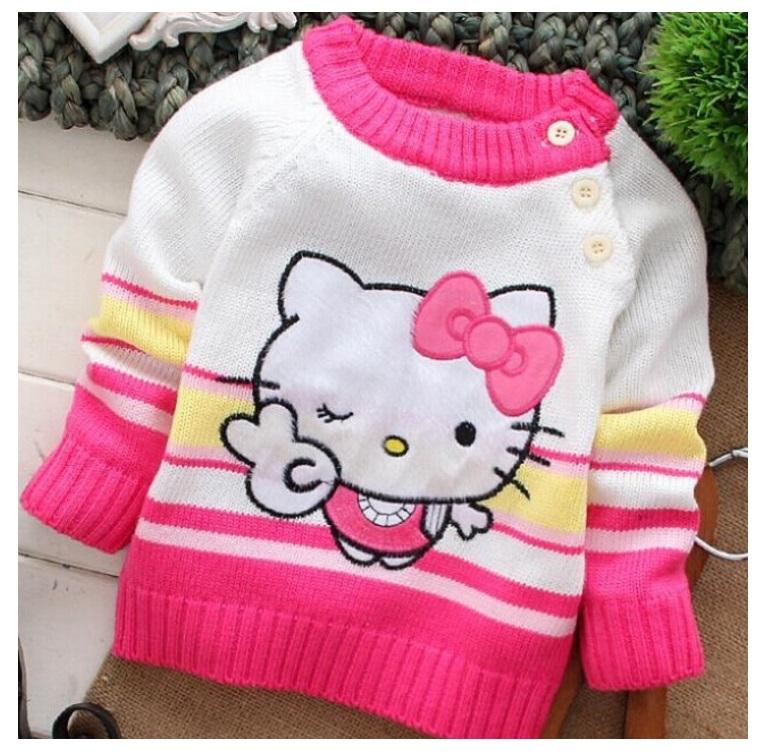 Dětský svetřík - Hello Kitty / dnk-13-01286a