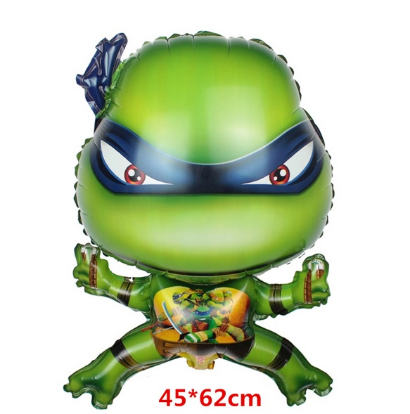 Nafukovací Želva ninja 45 x 62 cm