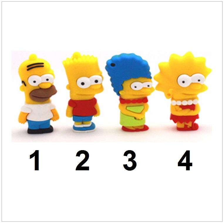 USB paměť - The Simpsons (4 GB) / tnk-13-02294a