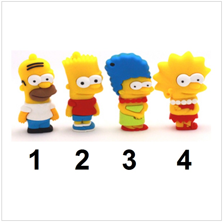 USB paměť - The Simpsons (8 GB) / tnk-13-02294b