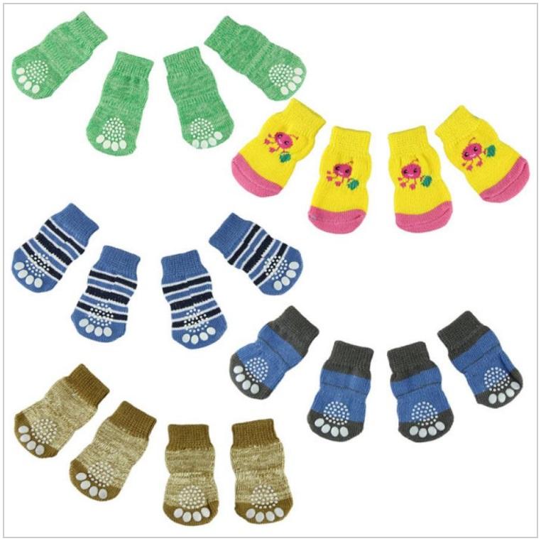 Ponožky pro psy (4 ks) / dnk-13-01335