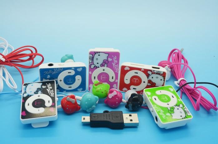 """MP3 přehrávač """"Hello Kitty"""" / 4-00003a"""