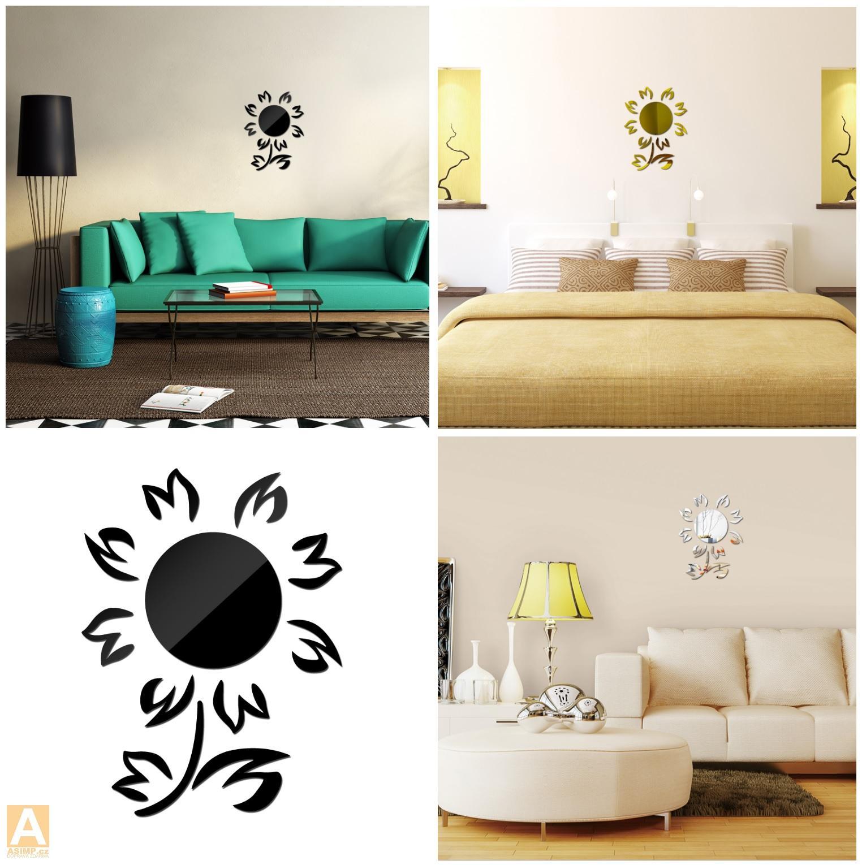 Samolepící dekorace na zeď - Květina / dnk-13-01347