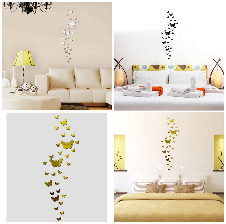 Samolepící dekorace na zeď - Motýli (30 ks) / dnk-13-01348