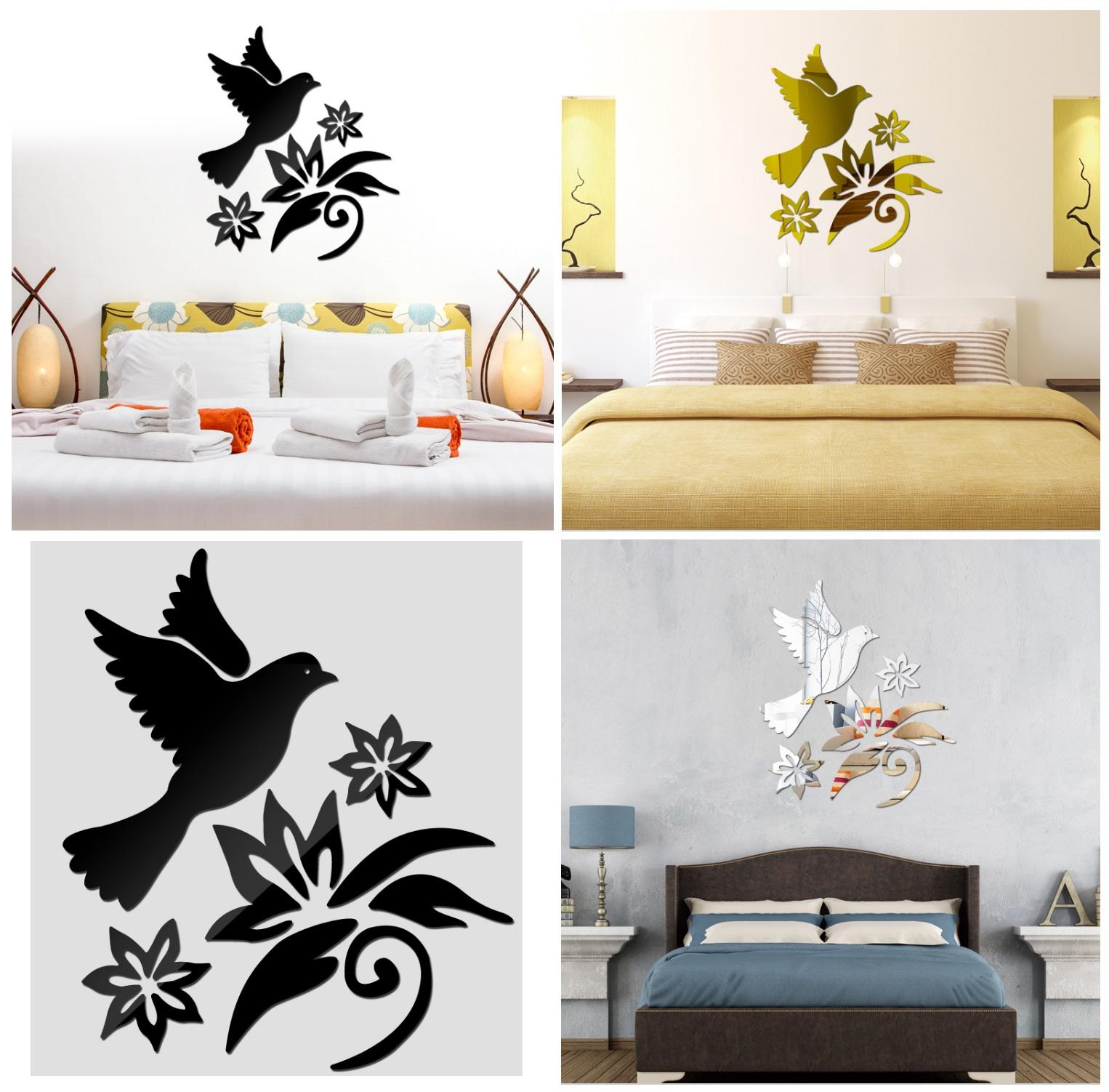 Samolepící dekorace na zeď - Pták / dnk-13-01349