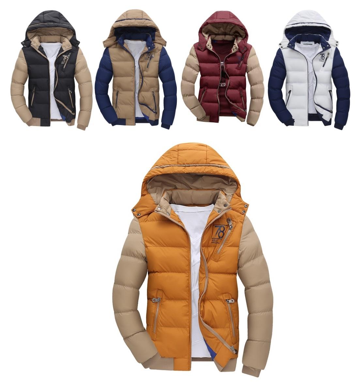 Pánská zimní bunda / dnk-13-01358