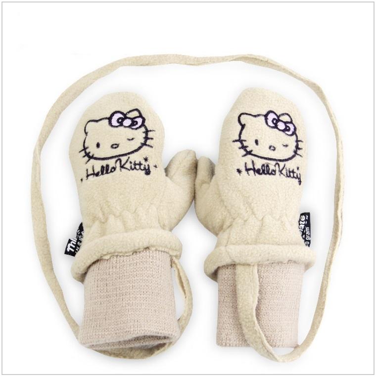 Dětské rukavice - Hello Kitty / dnk-13-01375