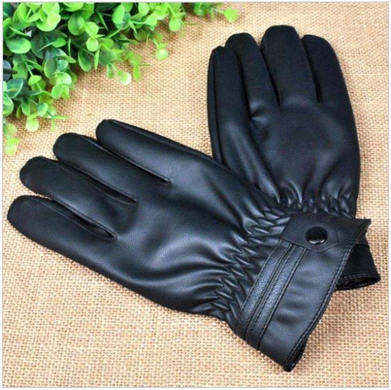 Pánské zimní rukavice / dnk-13-01377