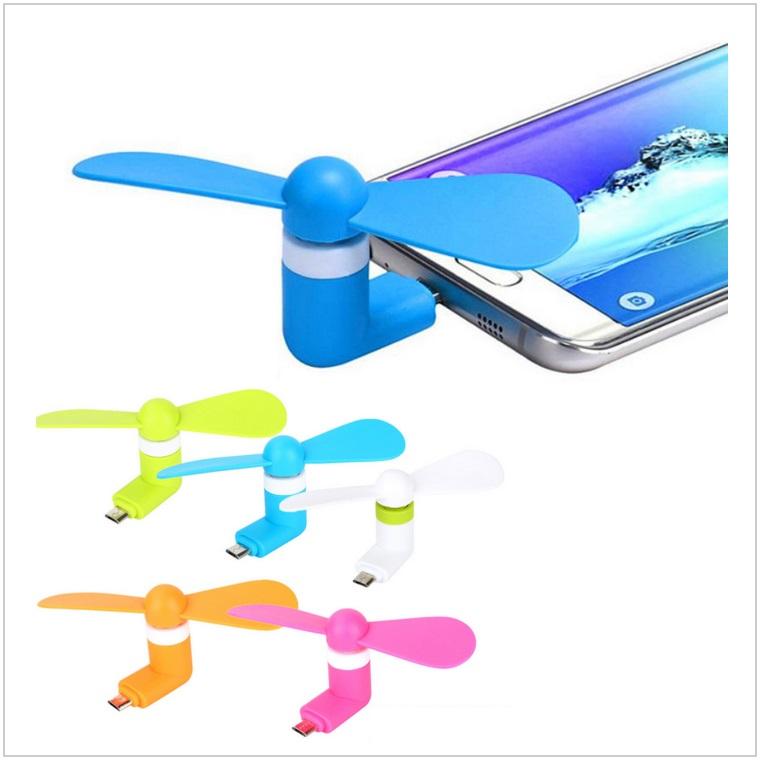 Mini větráček do mobilu / tnk-13-02344