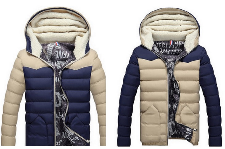 Pánská zimní bunda / dnk-13-01438