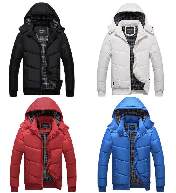 Pánská zimní bunda / dnk-13-01439