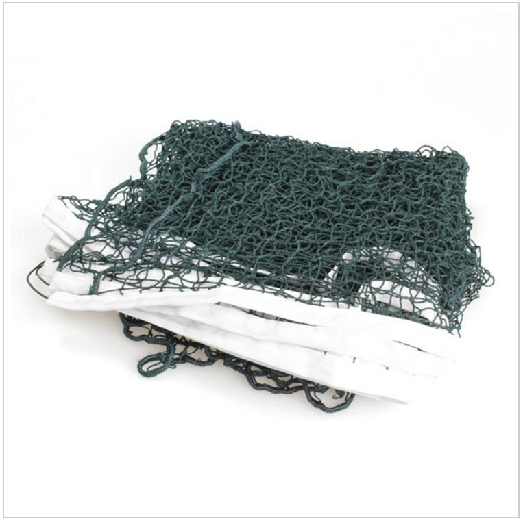 Badmintonová síť - zelená / tnk-13-02443