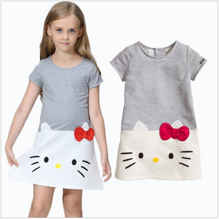 Dětské šaty - Hello Kitty / dnk-13-01496